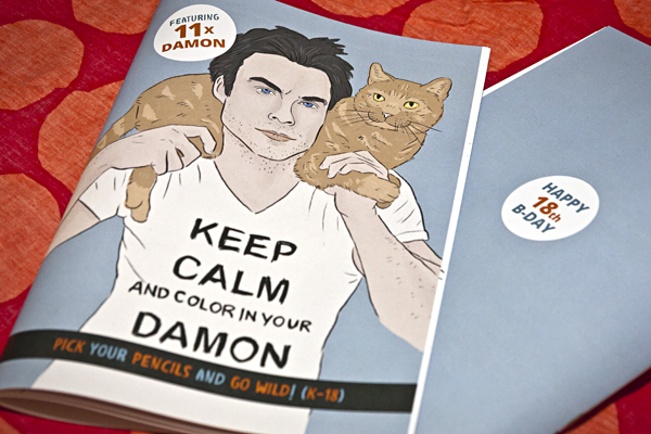 Keep Calm and Color In Your Damon