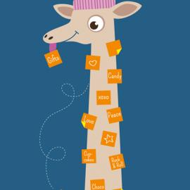 Note Giraffe